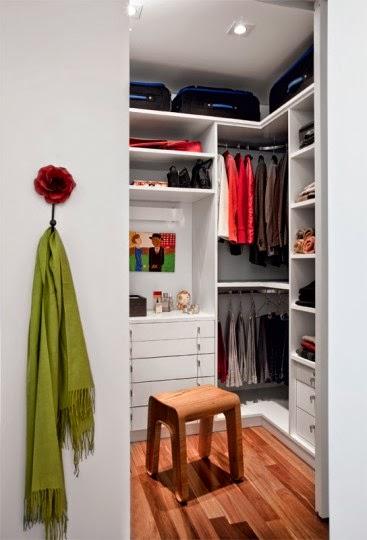 Closets Pequenos ~ Closets Pequenos e Simples Fotos Toda Atual