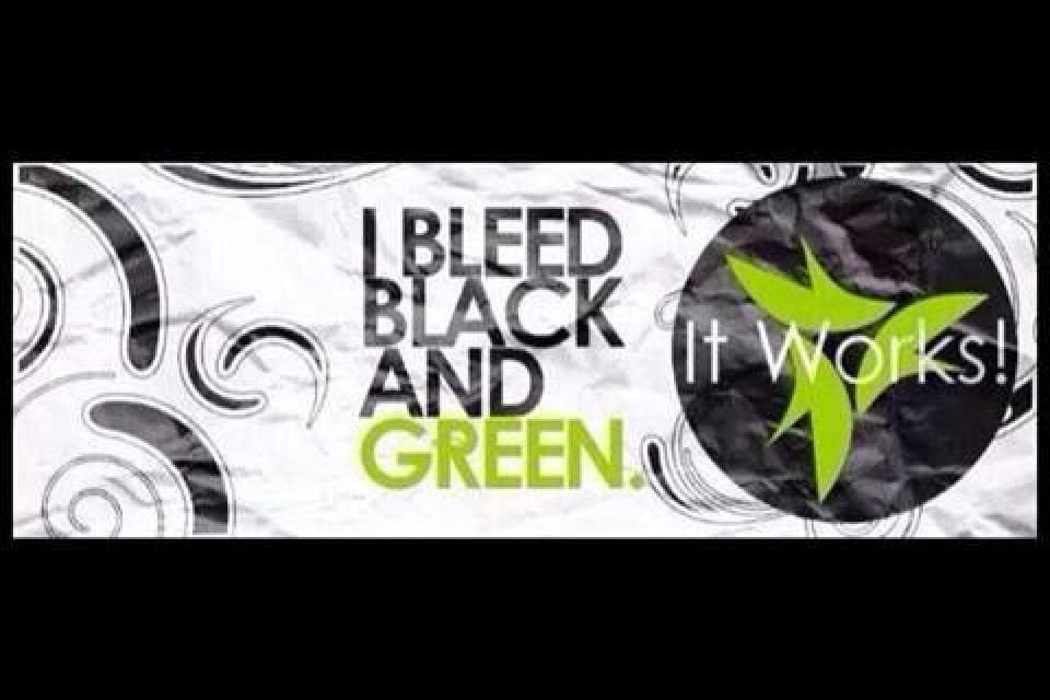 I Bleed Black & Green