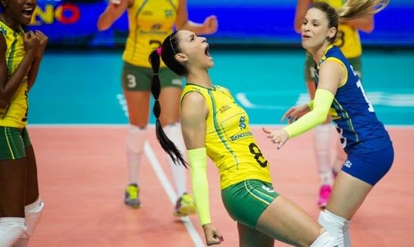 Brasil confirma favoritismo, bate China e fica perto da semifinal