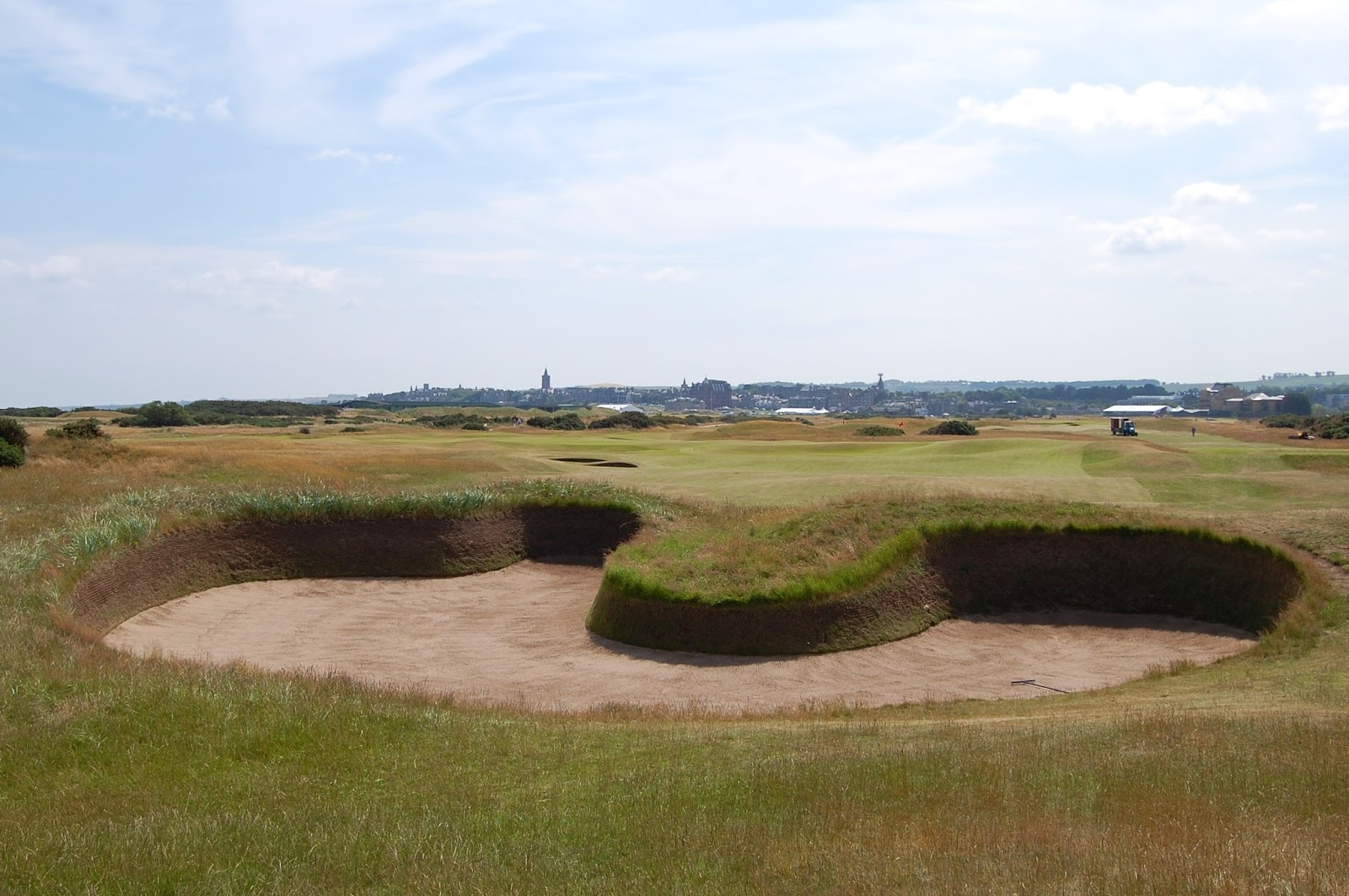 Hell bunker on the Old Course in St. Andrews