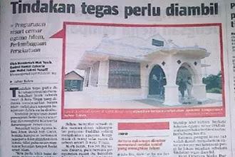 Surau Islam dijadikan Tokong Kuil