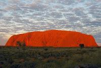 Uluru Sun Set Australia