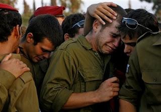 Tentara Israel Sedih