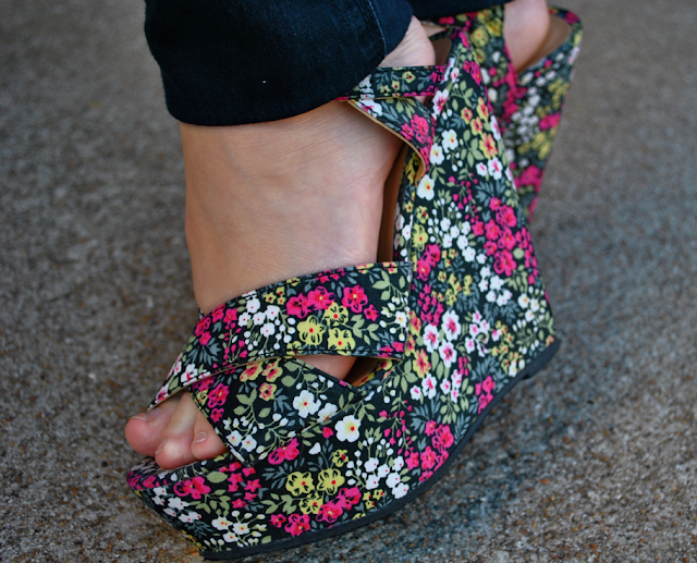 vintage style shoes - flashback summer via lovebirds vintage
