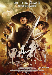 Flying Swords of Dragon Gate (2011) Hindi Dual Audio BluRay | 720p | 480p