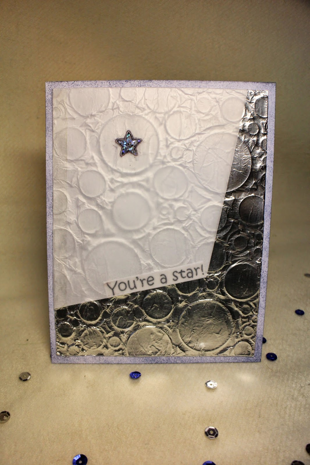 scrapbooking card CAS clean and simple you are a star скрапбукинг открытка кас чисто и просто звезда космос hamster-sensey