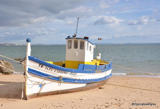 Boat, Cascais, Portugal
