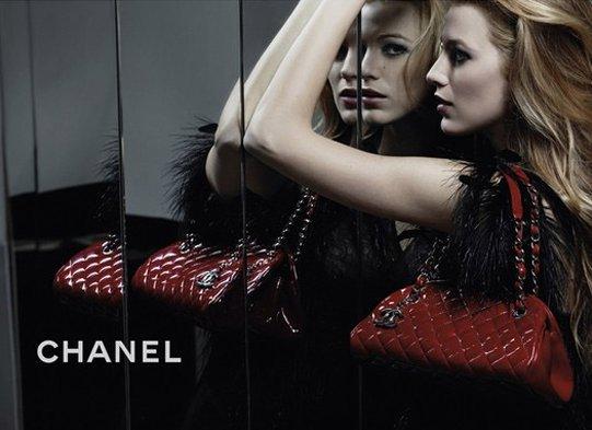blake lively chanel mademoiselle handbags. Picture du Jour: Blake Lively
