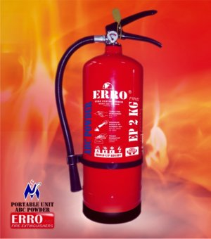 Jual Tabung Pemadam Api | Tabung Apar ABC Powder 2 Kg