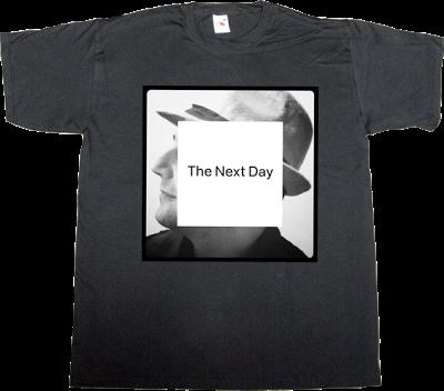 jonathan Barnbrook david bowie music rock tribute fun autobombing typography typoweek bau t-shirt ephemeral-t-shirts