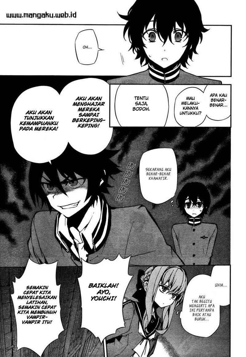 Owari no Seraph Chapter 4-10
