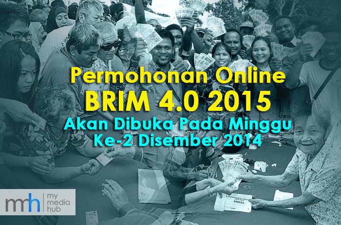 Permohonan Online BRIM 4.0 2015 Akan Dibuka Pada Minggu Ke-2 Disember