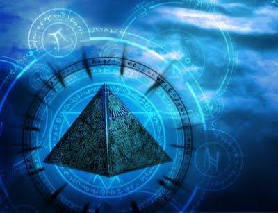 Significados numero 12, piramide azul brilhante