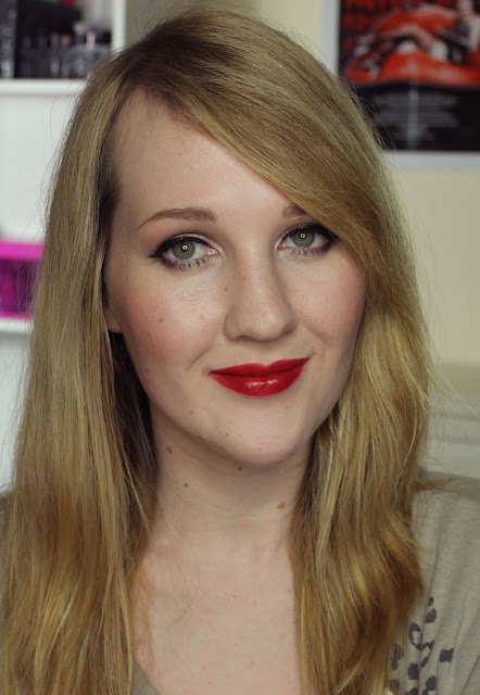 MAC X Philip Treacy Lipsticks - Cardinal Swatches & Review
