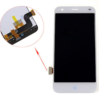 "5.0"" For ZTE Blade S6 Q7 LCD Display Digitizer Touch Screen Glass Assembly White"
