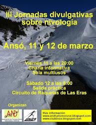 III Jornadas de nivología, Ansó 2016