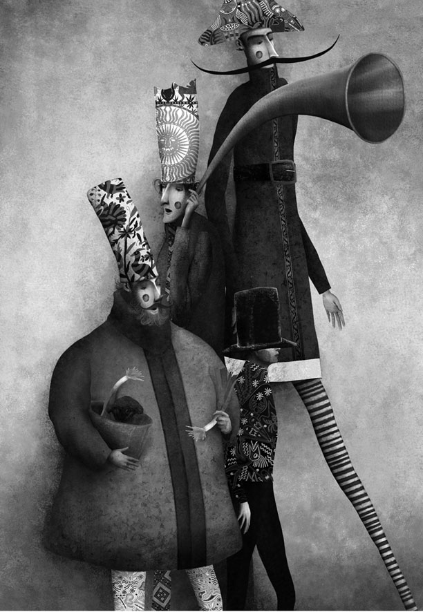 Gabriel Pacheco 1973 - Mexican Surrealist Visionary painter
