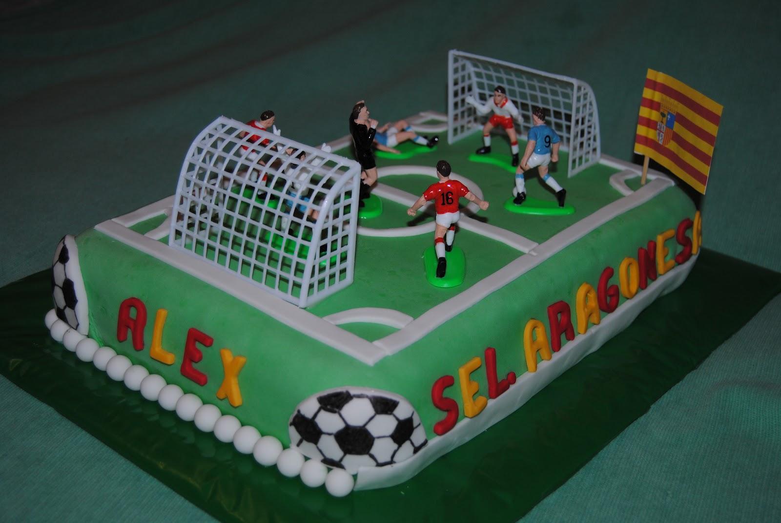 Messi Soccer Birthday Cake