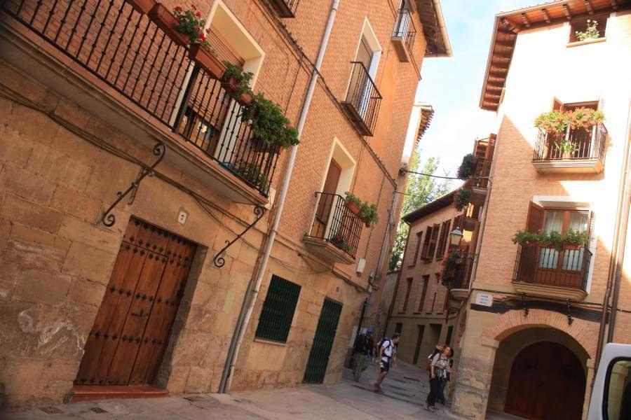 Los Arcos in Navarra