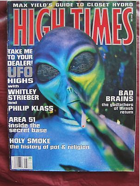 High Times # 240 Take Me To Your Dealer! UFO Highs