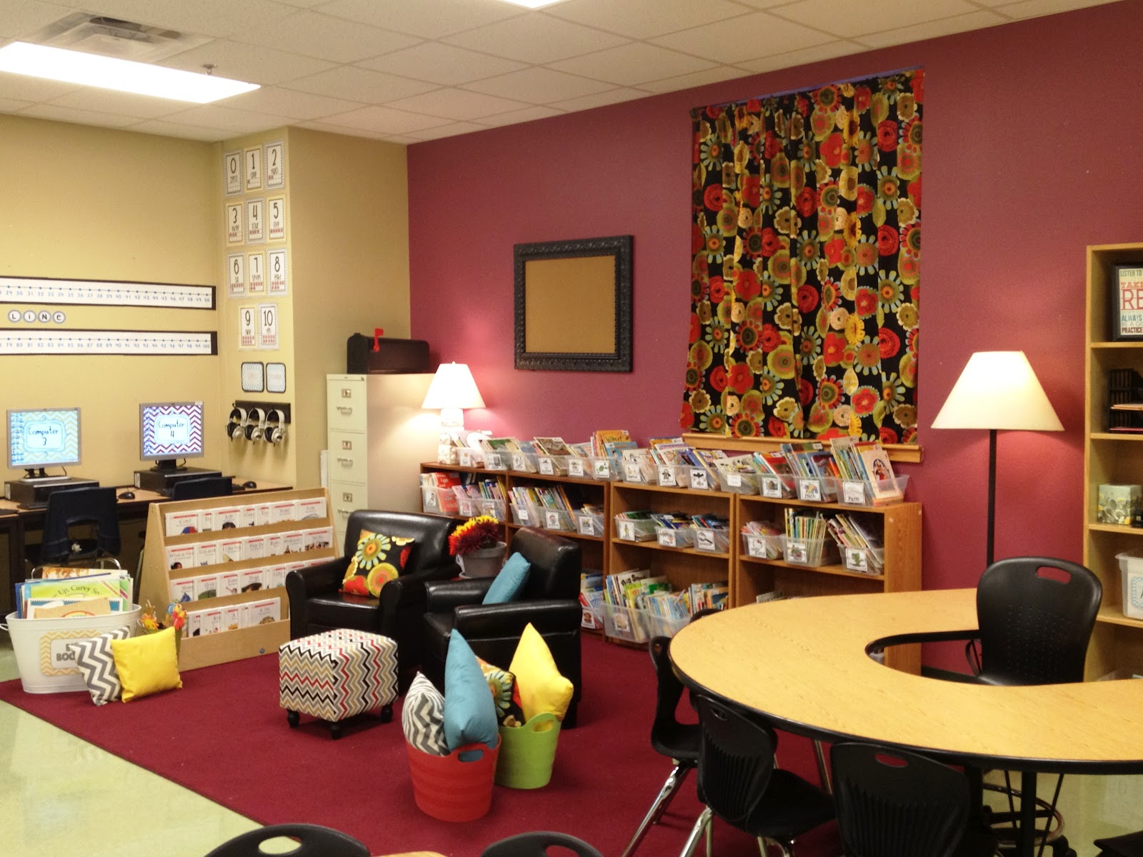 Classroom Library Design ~ Classroom tour tunstall s teaching tidbits