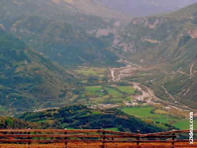 Villanova y entrada al Ventamillo, Valle de Benasque.