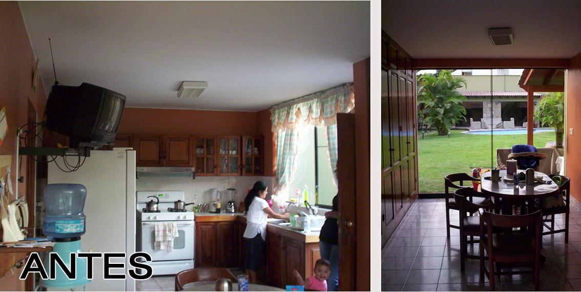 Oniria: Antes y Después - Remodelacion de Cocina