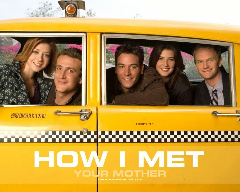 how I met your mother poster in taxi