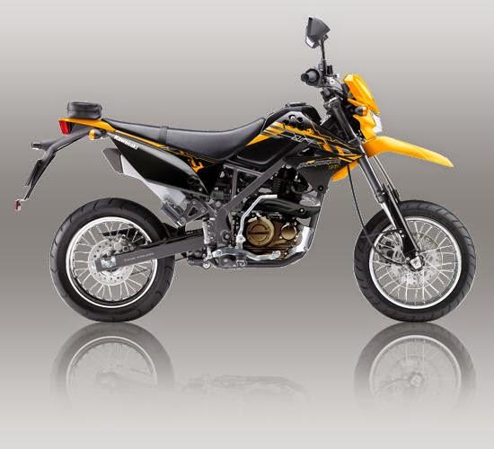 Kawasaki D Tracker 150 Kuning