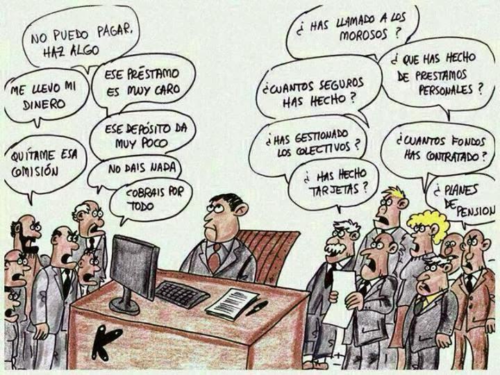 EL DIFÍCIL DÍA A DÍA DEL EMPLEADO DE BANCA EN ESPAÑA: