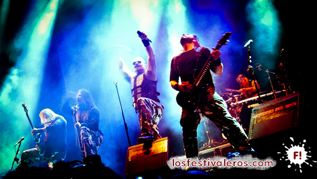 Sabaton en el Festival Leyendas del Rock 2015