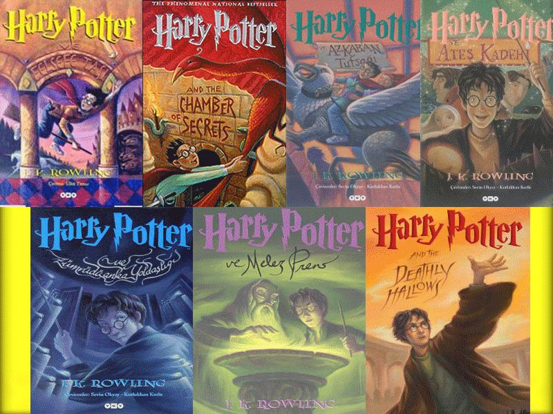 Potter Kitapları Türkçe