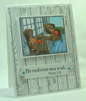 ODBD Porch, Customer Card of the Day by Claudia aka cjzim