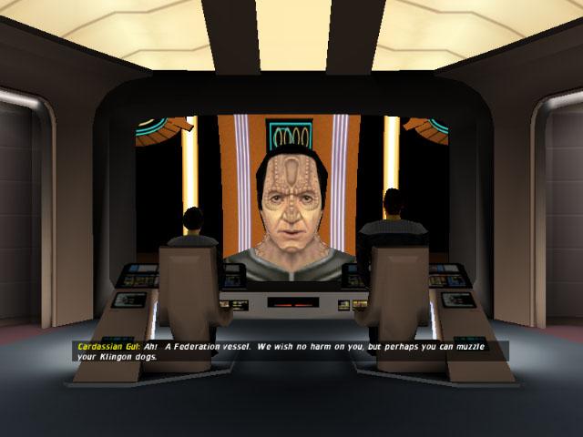how to play star trek bridge commander