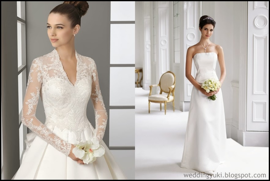 Find Elegant Simple Wedding Dress 2014 | Column Wedding Dresses