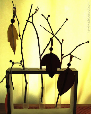 осенняя поделка autumn craft