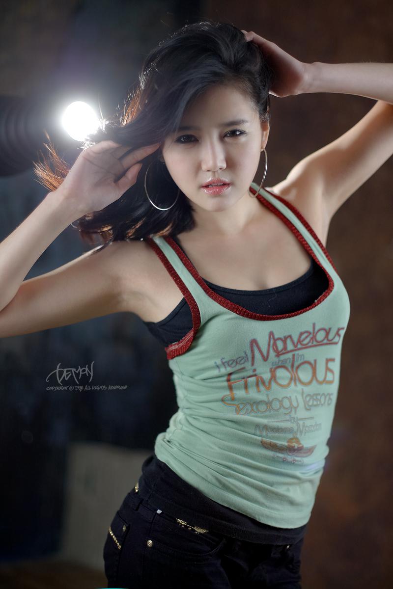 Han Ga Eun Green Tank Top 07 HOT GIRLS – JAPANESE – CHINA – KOREAN – BIKINI SEX: Han Ga Eun – Green Tank ...