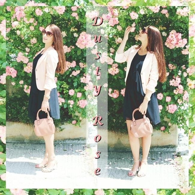 Instagram @lelazivanovic.Ootd Dusty Rose.Outfit dana: prljavo roze.Spring 2015 outfits.