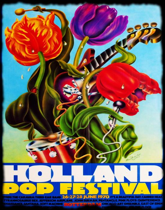 Holland Pop Festival 1970 ... 96 minutos