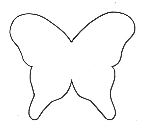 Mi coleccin de dibujos  Mariposas para colorear