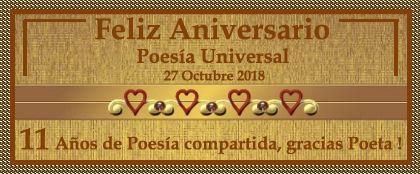 ANIVERSARIO  No. 11 DEL FORO POESIA UNIVERSAL