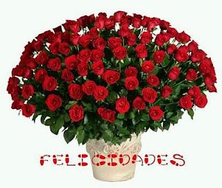 Imagenes de Cumpleaños con Rosas Rojas, parte 1