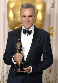 Daniel Day-Lewis and his Oscar for 'Lincoln'