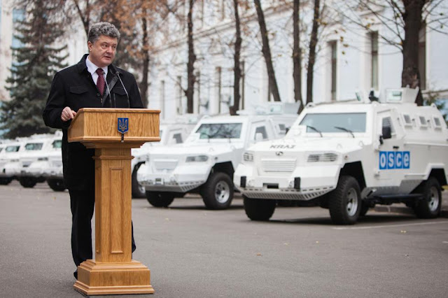 A Desperate Poroshenko Begs the West for more...