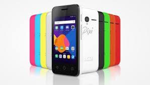 Harga Alcatel Pixi 3  dan Spesifikasi Memori Hingga 32 GB