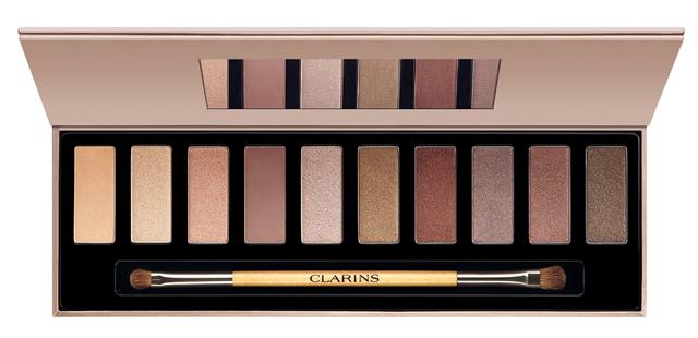 la palette yeux maquillage the essentials de clarins peut elle concurrencer les naked d 39 urban. Black Bedroom Furniture Sets. Home Design Ideas