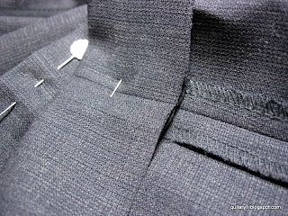 hemming trousers