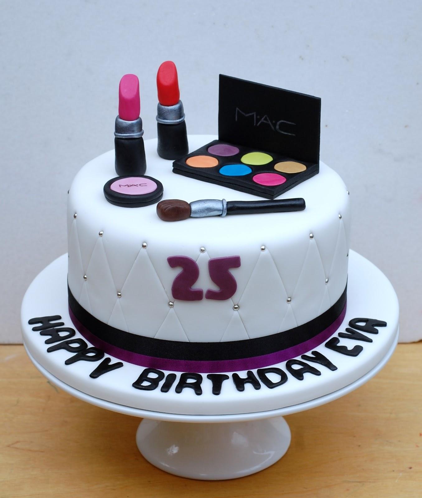 Vanilla Frost: Make Up Birthday Cake