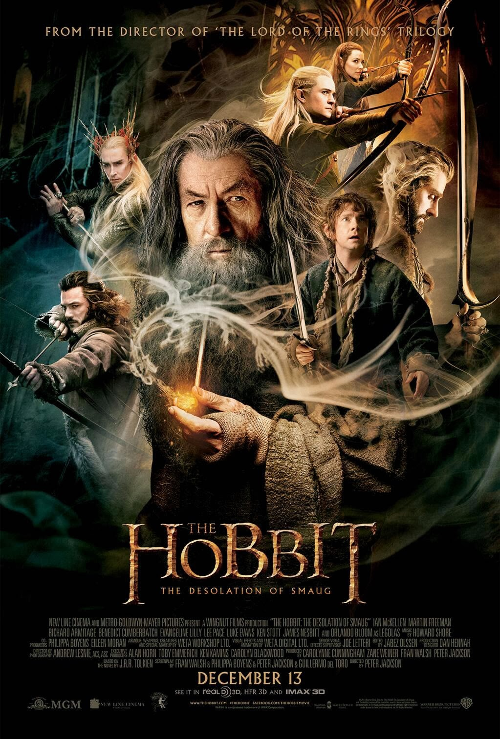 O Hobbit : A Desolação de Smaug Torrent BluRay 1080p e 720p Dual Audio