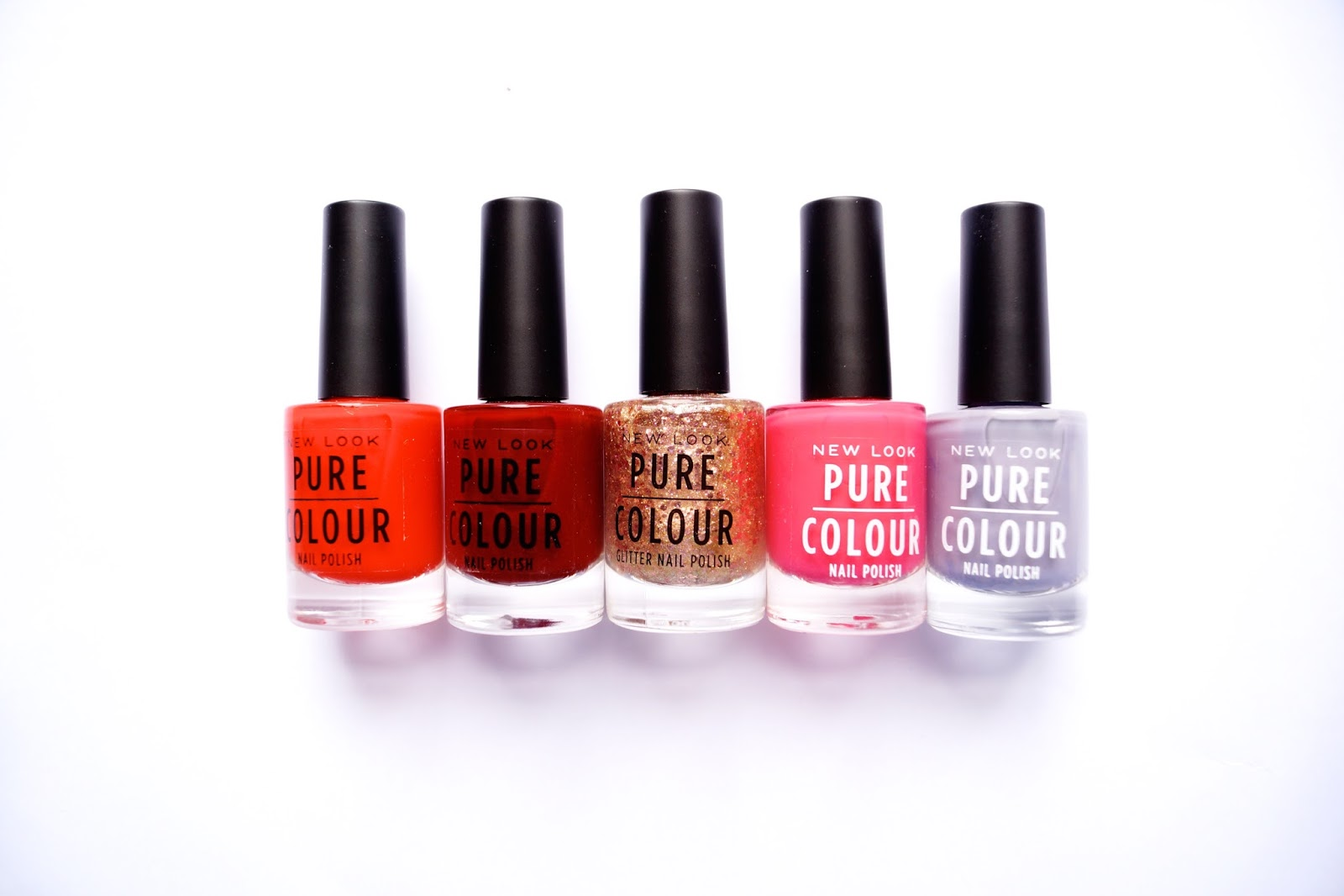 New Look Pure colour nail polish | Style Coverage